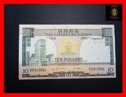 HONG KONG 10 $ 1.1.1977  P. 74 C  XF \ AU  STAINS - Hong Kong