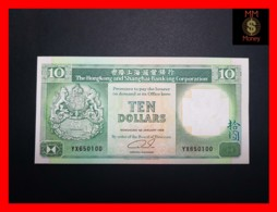 HONG KONG 10 $  1.1.1989  P. 191 C  UNC - - Hong Kong