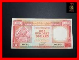HONG KONG 100 $  1.1.1990  P. 198 B  VF - Hong Kong