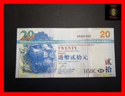 HONG KONG 20 $  1.1.2009  P. 207 F  UNC - Hong Kong