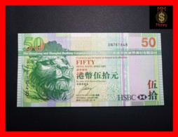 HONG KONG 50 $  1.1.2008  P. 208 E  UNC - Hong Kong