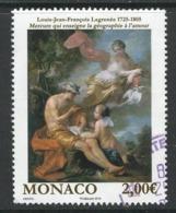 Monaco, Yv 3037 Jaar 2016, Hoge Waarde,  Gestempeld - Used Stamps