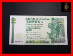 HONG KONG 10 $  1.1.1991   P. 278 D  UNC  STAINS - Hong Kong