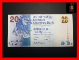 HONG KONG 20 $  1.1.2010  P. 297 A  UNC - Hong Kong