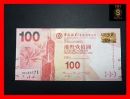 HONG KONG 100 $  1.7.2015  P. 343 E  UNC - Hong Kong