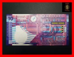 HONG KONG 10 $ 1.7.2002  P. 400 A  PAPER  UNC - Hong Kong