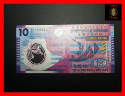 HONG KONG 10 $  1.1.2012  P. 401 C  POLYMER   UNC - Hong Kong