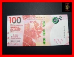 HONG KONG 100 $  01.01.2018  P.NEW BoC UNC - Hong Kong