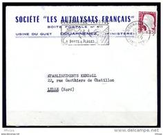 Lil3810 DOUARNENEZ FINISTERE SECAP DOU204 Douarnenez Treboul Ports Et Plages /L 08/12/60 - Storia Postale