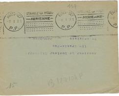 PARIS 127 KRAG 1931 DREYFUSS (B127104P) 1994 Cote 300F En PORT PAYE PP ANNEE A L'ENVERS DEVANT SEUL - Marcophilie (Lettres)