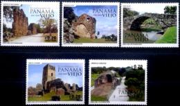 Panama 2019 ** V Centenario De Panamá Viejo. Turismo. Inusual Impresión Con Relieve. - Panama