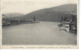 19 - ARGENTAT - La Corrèze Illustrée - T.Belle Vue Pas Très Courante Des Inondations  Du 17 Février 1904 - Argentat