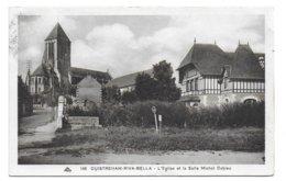 14 – OUISTREHAM-RIVA-BELLA : L'église Et La Salle Michel Cabieu N° 140 - Ouistreham