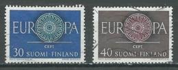 Finlande YT N°501/502 Europa 1960 Oblitéré ° - Europa-CEPT