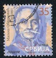 2017 - SERBIA - MILOS OBRENOVIC PRINCIPE DI SERBIA / PRINCE OF SERBIA. USATO - Serbia