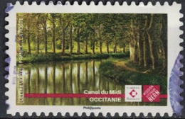 France 2019 Oblitéré Used Patrimoine Mission Stéphane Bern Canal Du Midi SU - Oblitérés