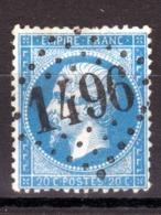 LOSANGE GC 1496 Ferté-sous-Jouarre Sur NAPOLEON N°22 / DISPERSION D'UNE COLLECTION!! - 1862 Napoléon III