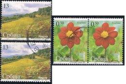 2007 - SERBIA - FIORI E PAESAGGI / FLOWERS AND LANDSCAPES. USATO - Serbia