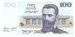 ISRAEL 100 LIROT 1973 PICK 41 UNC - Israele