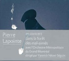 Pierre Lapointe Ave Orchestre Metropolitain Grand Montreal- Foret Des Mal Aim/s En Concert(digipak) - Música & Instrumentos