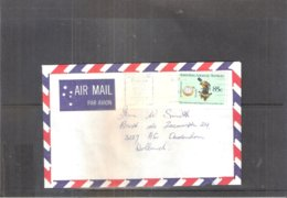 Cover From AAT To Holland 1984 (to See) - Territoire Antarctique Australien (AAT)