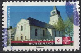 France 2019 Oblitéré Used Patrimoine Mission Stéphane Bern Église Saint Léger De Barly SU - Frankreich