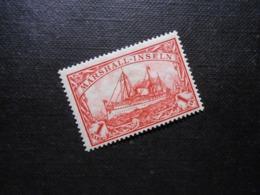 D.R.Mi 22  1M*MLH - Deutsche Kolonien (Marshall-Inseln) 1901 - Mi 6,00 € - Kolonie: Marshalleilanden