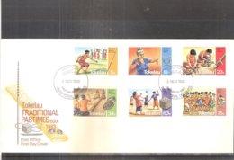 FDC Tokelau - Traditional Pastimes - 1983 - Complete Set (to See) - Tokelau