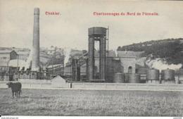 CHOKIER ..-- Charbonnages Du NORD . 1908 Vers VERVIERS ( Mr Paul BOLAND ) . Voir Verso . - Flémalle
