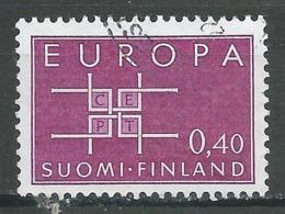 Finlande YT N°556 Europa 1963 Oblitéré ° - Europa-CEPT
