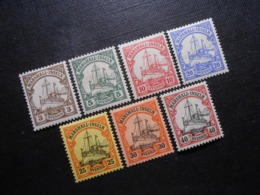 D.R.Mi 13-19*MLH - Deutsche Kolonien (Marshall-Inseln) - 1901 - Mi 7,20 € - Colony: Marshall Islands
