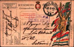69165) INTERO POSTALE IN FRANCHIGIA MILITARE -BOLLO POSTA MILITARE 18 IL 24-5-1919 - 1900-44 Vittorio Emanuele III