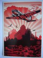 Avion / Airplane / Douglas DC-3 / WAR IS OVER / Obey Propaganda - 1946-....: Ere Moderne