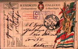 69170) INTERO POSTALE IN FRANCHIGIA MILITARE -BOLLO POSTA MILITARE 18 IL 29-5-1919 - 1900-44 Vittorio Emanuele III