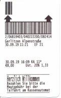 Österreich Eintrittskarte 2019 Gerlitzen Alpenstrasse - Eintrittskarten