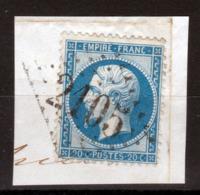LOSANGE GC 2105 Louviers Sur NAPOLEON N°22 / DISPERSION D'UNE COLLECTION!! - 1862 Napoléon III