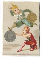 CHROMO - Personnages - Un Saut Dix Fois Plus Fort - Trade Cards