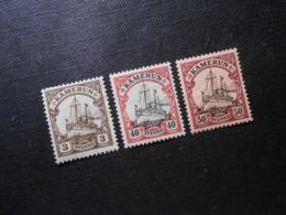 D.R.Mi 7(*)UNG/ 13/ 14Pf*MLH - Deutsche Kolonien ( Kamerun ) 1900 - Mi 6,80 € - Colony: Cameroun