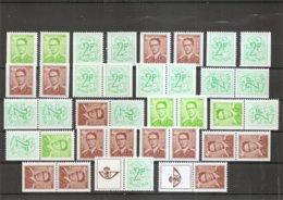 Belgique ( 1657/1659h XXX -MNH) - Booklets 1953-....