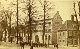 Allemagne Munster Hopital ? Unijambiste Ancienne Photo CDV Hundt 1870' - Foto's
