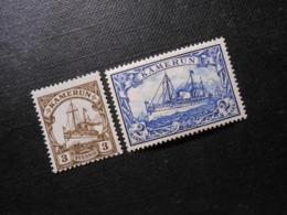 D.R.Mi 7/17  3Pf/ 2M*MLH - Deutsche Kolonien ( Kamerun ) 1900 - Mi 8,50 € - Colonie: Cameroun
