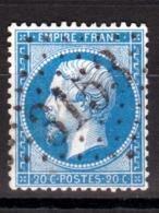LOSANGE GC 3153 Rivesaltes Sur NAPOLEON N°22 / DISPERSION D'UNE COLLECTION!! - 1862 Napoléon III