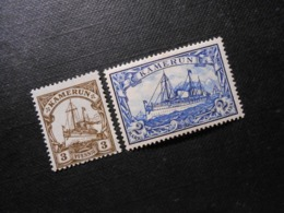 D.R.Mi 7/ 17  3Pf/ 2M*MLH - Deutsche Kolonien ( Kamerun ) 1900 - Mi 8,50 € - Colony: Cameroun