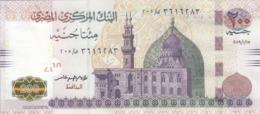 EGYPT 200 POUNDS EGP 2019 P-73b SIG/ T.AMER #24 UNC */* - Egypt