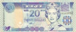 FIJI 20 DOLLARS ND (2002) P-107a UNC  [FJ518a] - Fiji