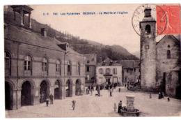 -5718 - Bedous ( 64 ) - La Mairie Et L'Eglise - C.C. N°720 - - Francia