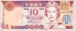 FIJI 10 DOLLARS ND (2002) P-106a UNC  [FJ517a] - Fiji
