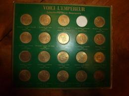 Vers Années 1970--->Collection De 19 Médailles  Du Bicentenaire De NAPOLEON  (édition TOTAL) - Touristiques