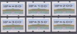 Duitsland Vignetten 1993 Complete Reeks **, Zeer Mooi Lot Krt 4138 - R- & V- Labels
