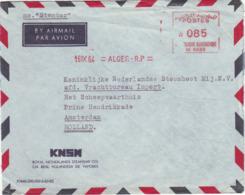 Algérie - EMA (empreinte De Machine à Affranchir) Sur Lettre à Destination Des Pays-Bas. - Algerien (1962-...)
